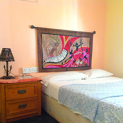 Mana Pools double bed room accommodation Harare